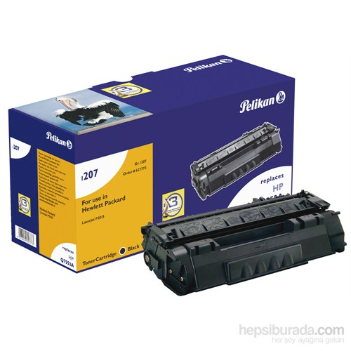Pelikan HP Q7553A CRG-715 Toner (627773) - Siyah