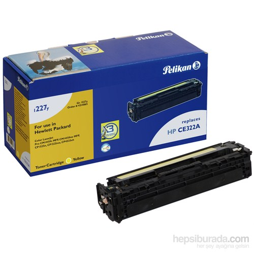 Pelikan HP CE322A / 128 Toner (4214065) - Sarı