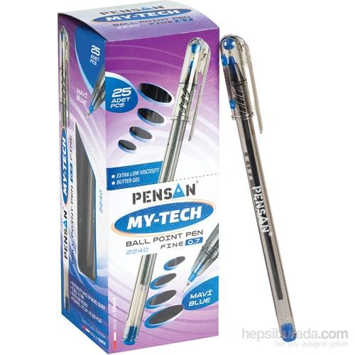 Pensan My-Tech Tükenmez Kalem 0.7 Mm Siyah 25'li