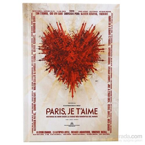 Done 64918-1 Film Afişleri / Paris Je Taime Defter