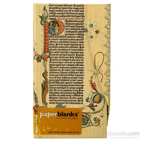 Paperblanks Pb-4-1238-2 Gutenberg Parabole Slim Defter