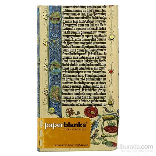 Paperblanks Pb-4-1240-5 Gutenberg Genesis Slim Çizgili Defter