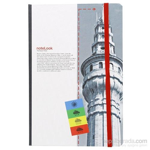 Scrikks Towers Of İstanbul Beyazıt Kulesi A5 Çizgili