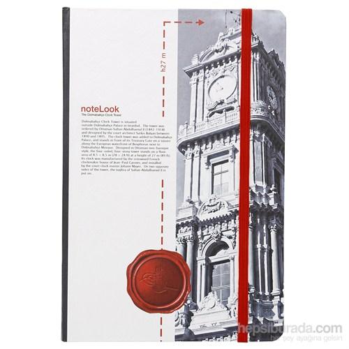 Scrikks Towers Of İstanbul Dolmabahce Saat Kulesi A5 Çizgisiz