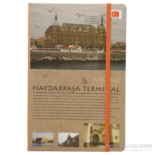 Scrikks Travel Around Turkey Haydarpaşa A5 Çizgisiz