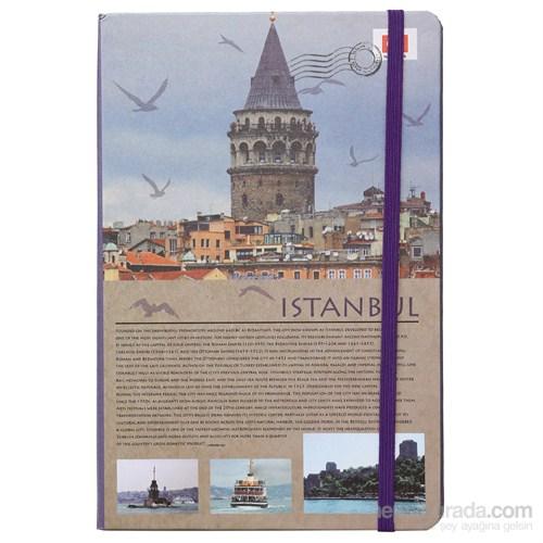 Scrikks Travel Around Turkey İstanbul A5 Çizgili