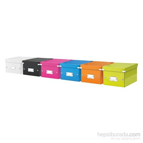 Leitz Wow C&S Orta Boy Kutu Metalik Beyaz 60440001
