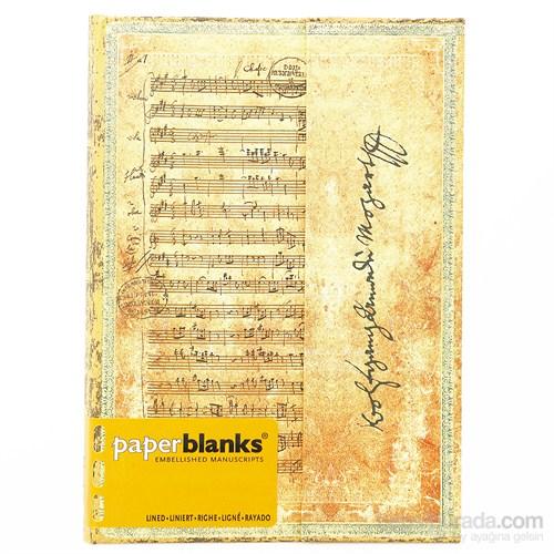 Paperblanks Pb-3-2574-0 Mozart Midi Çizgili Defter
