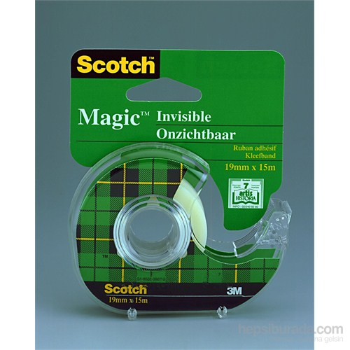 Scotch® Magic Bant, Kesicili, 19mmx15m