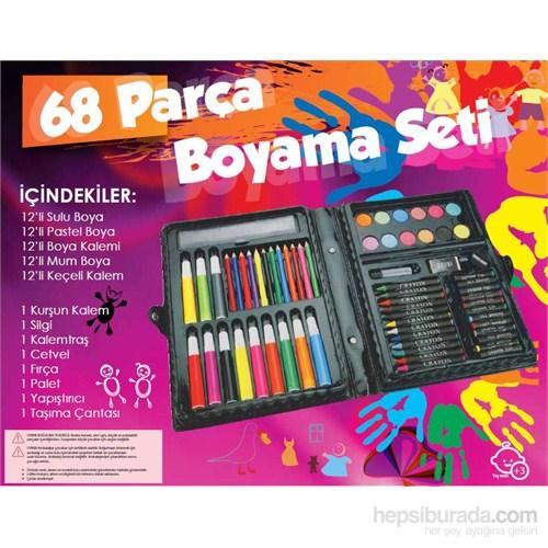 68 Parça Boyama Seti