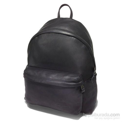 Eastpak Ek620762 Padded Pak'R Black Leather Sırt Çantaları