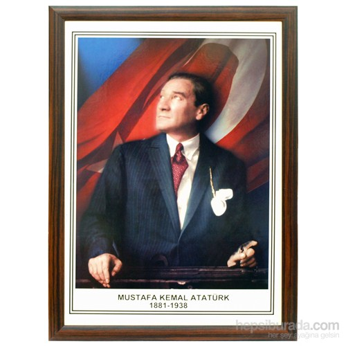 Akyazı 35x50 Ahşap Atatürk