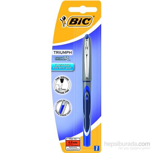 Bic 537R Roller 05 1'li BL Mavi