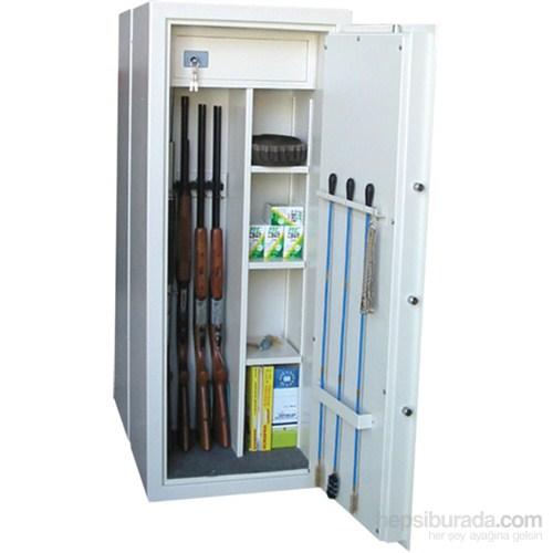 Evmanya Haus Çelik Tüfek Kasası GS145-5 Kombi