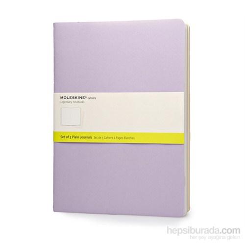 Moleskine Cahier 3Lü Defter Pastel Renk Düz Xl 120Sy Cha23