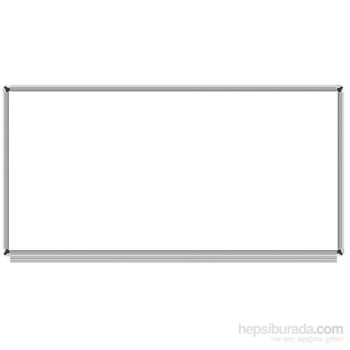 Akyazı 120x240 Emaye Duvara Monte Yazı Tahtası (Beyaz)