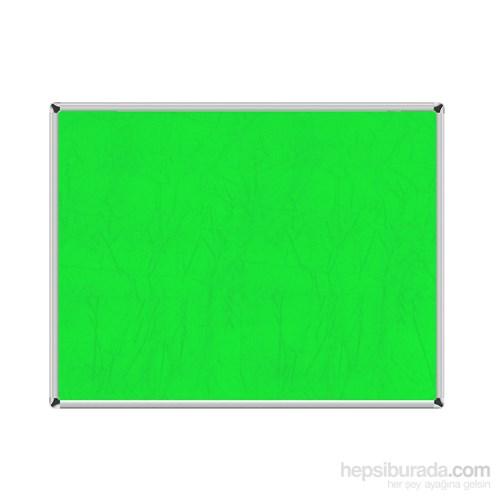 Akyazı 120x300 Duvara Monte Kumaşlı Pano (Yeşil)
