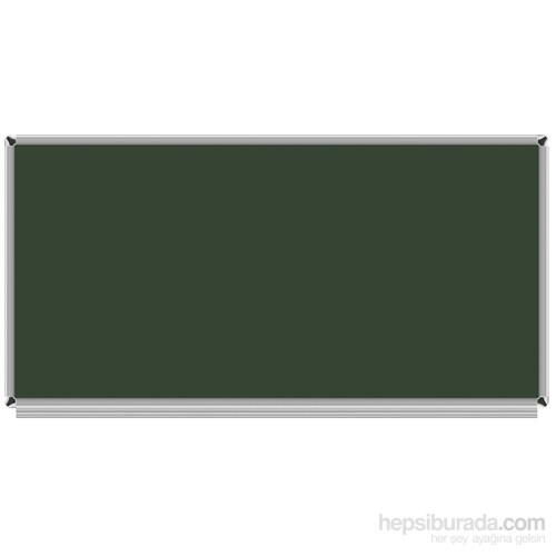 Akyazı 120x150 Emaye Duvara Monte Yazı Tahtası (Yeşil)