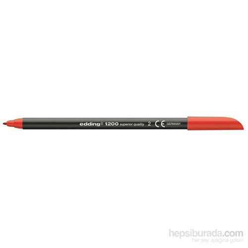 Edding Keçeli Kalem Kırmızı
