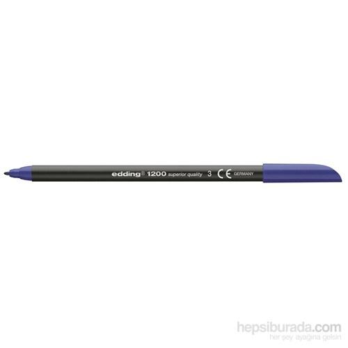Edding Keçeli Kalem Mavi