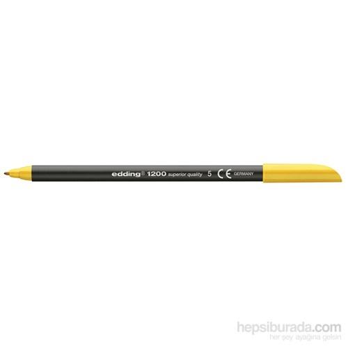 Edding Keçeli Kalem Sarı 10'lu Kutu