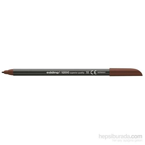 Edding Keçeli Kalem Koyu Kahverengi