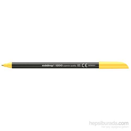 Edding Keçeli Kalem Fosforlu Sarı