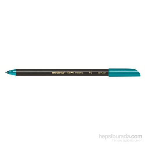 Edding Davetiye Kalemi Metalik Yeşil