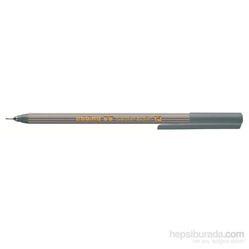 Edding İnce Uçlu Yazı Kalemi Gri Kutu