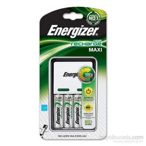 Energizer (F23-5645) Maxi Şarj Cihazı 4xAA 2300 Mah Kalem Pilli