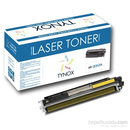 Tynox TY-11363 HP CE312A & Canon CRG-729 Sarı Toner