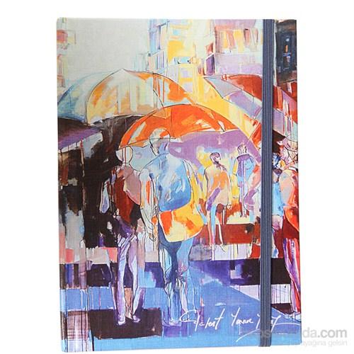 Biggdesign Şemsiyeler Defter 14X20