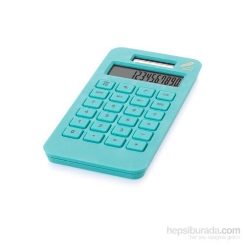 Pf Concept 12341802 Cep Hesap Makinası Açık Mavi