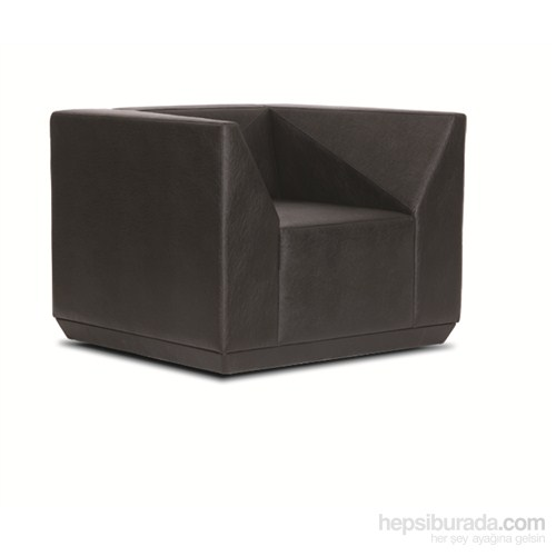 Nav Decoration Cube Tekli Kanepe Siyah