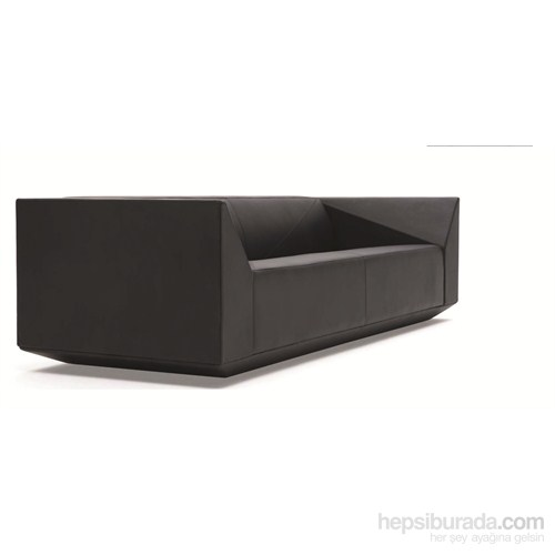 Nav Decoration Cube İkili Kanepe Siyah