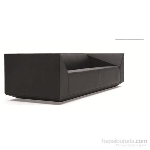 Nav Decoration Cube Üçlü Kanepe Siyah