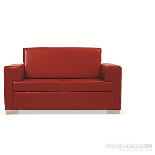 Nav Decoration Nova Üçlü Kanepe Kırmızı