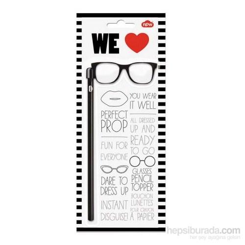 Npw Kurşun Kalem - Siyah Gözlük