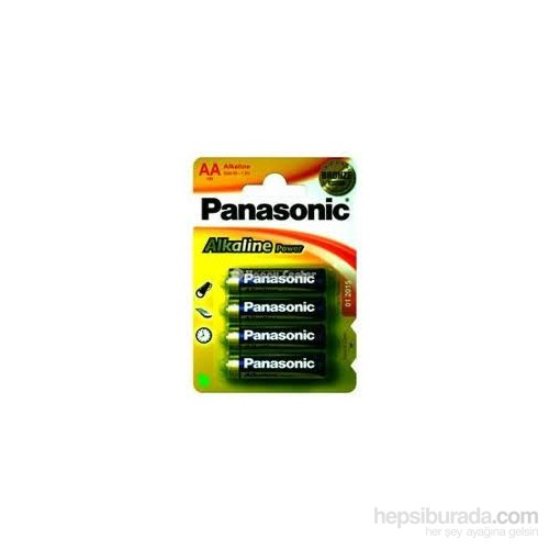 Panasonic Alkalin Pro Power İnce Pil (4'Lü Paket)