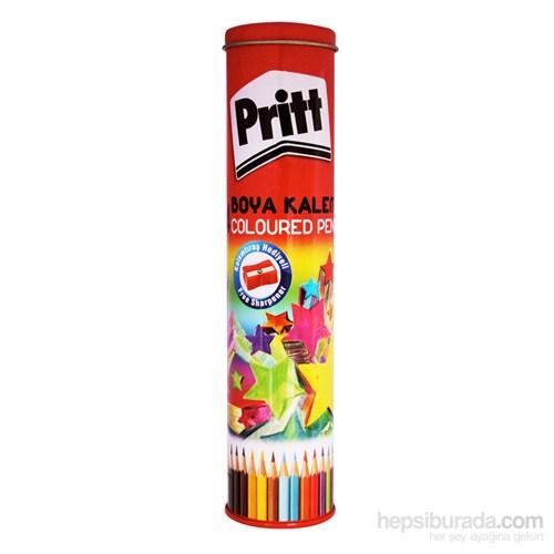 Pritt Boya Kalemi - 24 Renk - Metal Tüp
