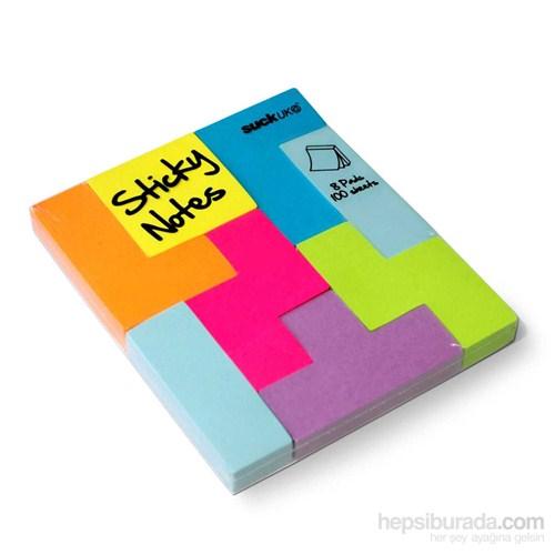 Suck Uk Blok Notluk - Block Notes - Yapışkanlı Not Kağıtları