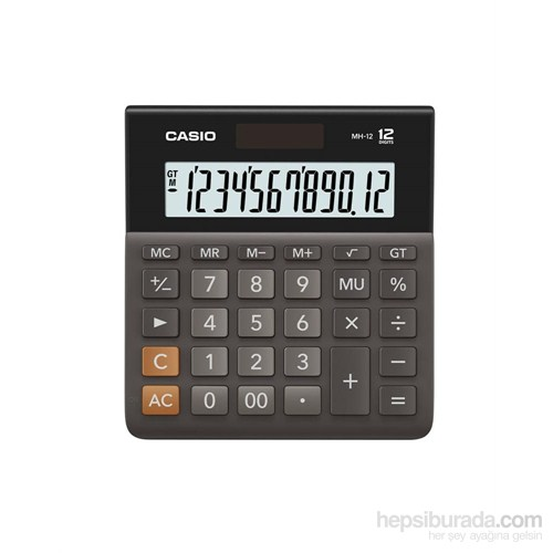 Casio Mh-12-Bk-W-Dh(Cn) Desk Type