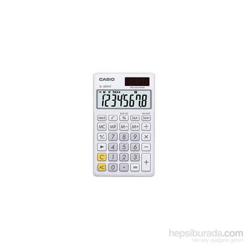 Casio Sl-300Vc-We Cep Tip Hesap Makinesi