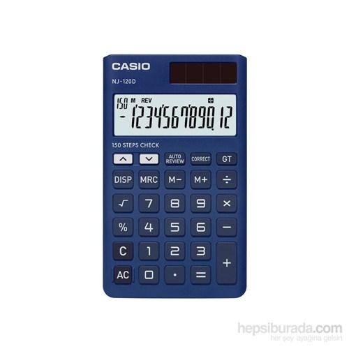 Casio Nj-120D-Bu-W-Dh-W Cep Tipi Hm