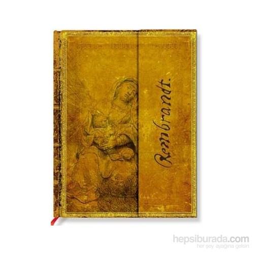 Paperblanks Rembrandt Virgi N & Child Mini Çizgili 95X140mm. 662-1 Defter