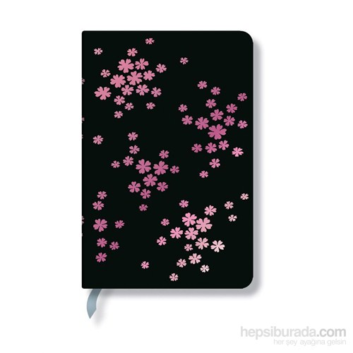 Paperblanks Simply Holographic Pink Frost Mini Çizgili - 95X140mm. 176 Syf 1617-5 Defter