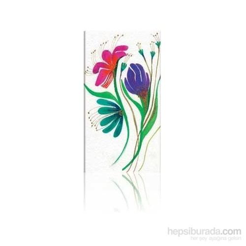 Paperblanks Wild Flowers Slim Çizgili - 95 X 180 Mm. 1638-0 Defter