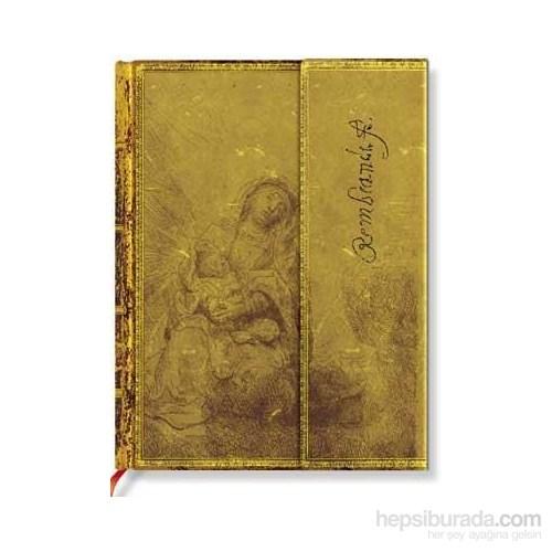 Paperblanks Rembrandt Virgi N & Child Ultra Çizgili - 180 X 230 Mm. 590-0 Defter