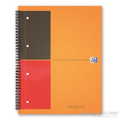 Oxford Internatıonal Fılıngbook A4 100Yp Çizgili