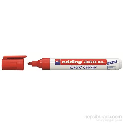 Edding Tahta Kalemi Kırmızı 360 XL